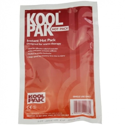 4 x self heating single use heat packs